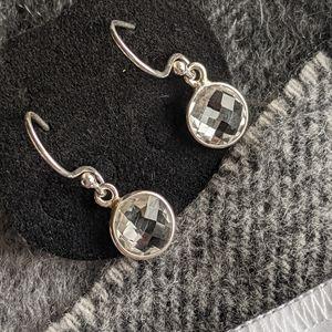 Authentic 💎White Quartz Earrings